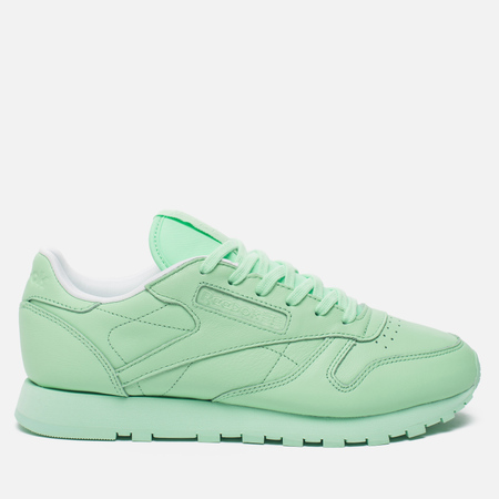 Женские кроссовки Reebok x Spirit Classic Leather Mint Green/White