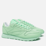 Женские кроссовки Reebok x Spirit Classic Leather Mint Green/White фото- 1