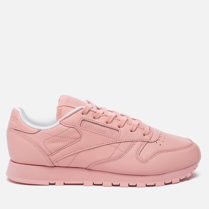 Женские кроссовки Reebok x Spirit Classic Leather Patina Pink/White