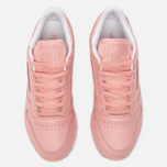 Женские кроссовки Reebok x Spirit Classic Leather Patina Pink/White фото- 4