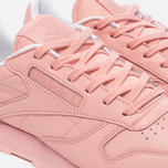 Женские кроссовки Reebok x Spirit Classic Leather Patina Pink/White фото- 5