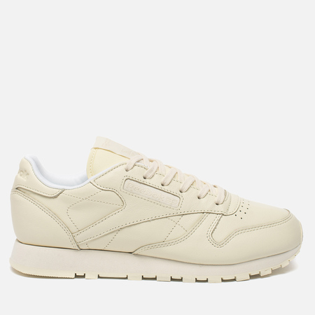 Женские кроссовки Reebok x Spirit Classic Leather Washed Yellow/White