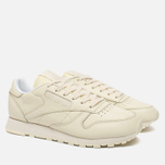 Женские кроссовки Reebok x Spirit Classic Leather Washed Yellow/White фото- 2