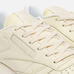 Женские кроссовки Reebok x Spirit Classic Leather Washed Yellow/White фото- 5