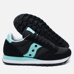 Saucony Jazz Original Women's Sneakers Black/Mint photo- 1