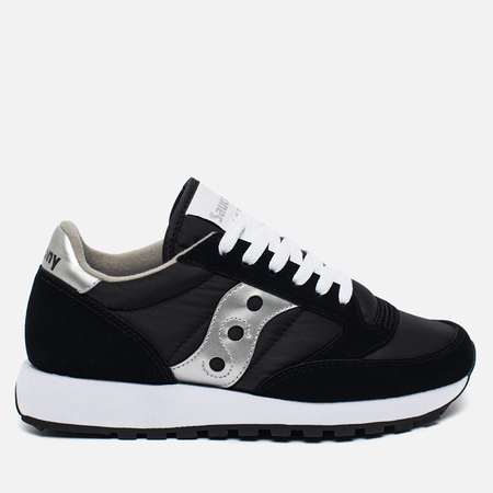 Женские кроссовки Saucony Jazz Original Black/Silver