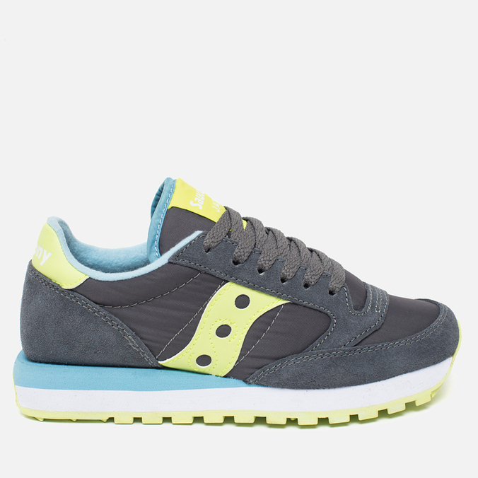 Женские кроссовки Saucony Jazz Original Charcoal/Light Green