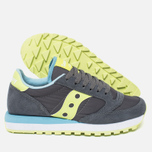 Женские кроссовки Saucony Jazz Original Charcoal/Light Green фото- 2