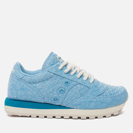 Женские кроссовки Saucony Jazz Original Cozy Sweater Pack Light Blue