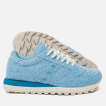 Женские кроссовки Saucony Jazz Original Cozy Sweater Pack Light Blue фото- 2