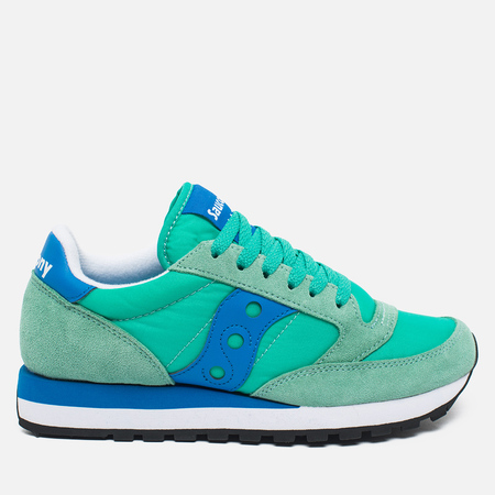 Saucony Jazz Original Women's Sneakers Green/Blue
