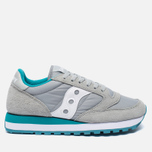 Женские кроссовки Saucony Jazz Original Light Grey/Green фото- 0