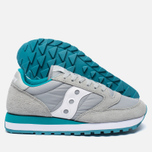 Женские кроссовки Saucony Jazz Original Light Grey/Green фото- 2
