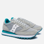 Женские кроссовки Saucony Jazz Original Light Grey/Green фото- 1