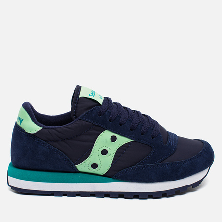 Saucony Jazz Original Women's Sneakers Navy/Mint