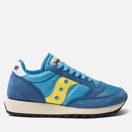 Женские кроссовки Saucony Jazz Original Vintage Blue/Yellow
