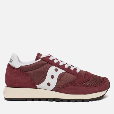 Женские кроссовки Saucony Jazz Original Vintage Burgundy/White