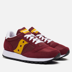 Женские кроссовки Saucony Jazz Original Vintage Maroon/Yellow