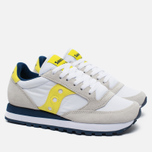 Женские кроссовки Saucony Jazz Original White/Yellow фото- 2