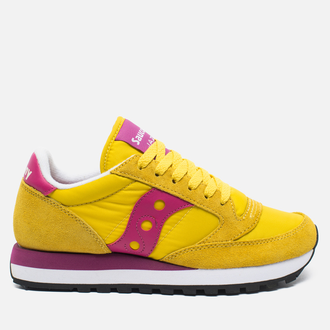 Saucony Jazz Original Women's Sneakers Yellow/Berry
