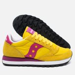 Saucony Jazz Original Women's Sneakers Yellow/Berry photo- 1
