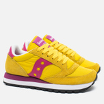 Saucony Jazz Original Women's Sneakers Yellow/Berry photo- 2