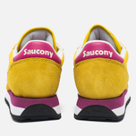 Saucony Jazz Original Women's Sneakers Yellow/Berry photo- 5