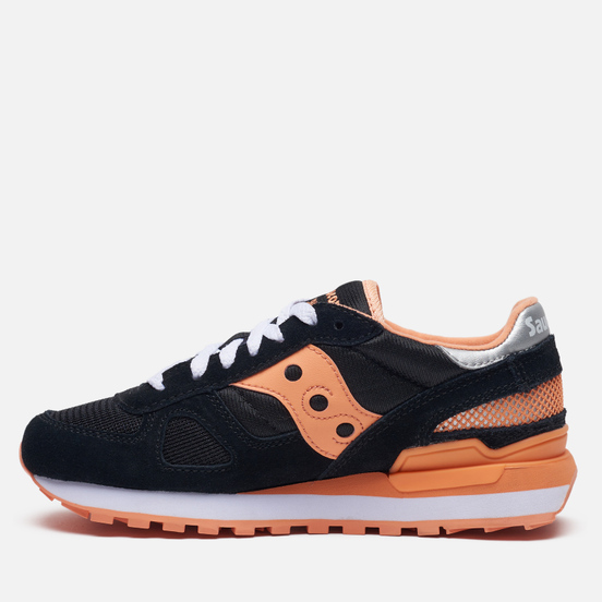 Женские кроссовки Saucony Shadow Original Black/Coral