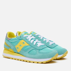 Женские кроссовки Saucony Shadow Original Blue/Yellow