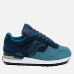 Saucony Shadow Original OG Suede Women's sneakers Blue/Teal photo- 0