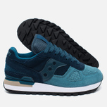 Saucony Shadow Original OG Suede Women's sneakers Blue/Teal photo- 1