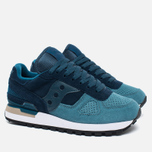 Saucony Shadow Original OG Suede Women's sneakers Blue/Teal photo- 2