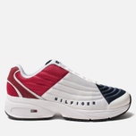 Женские кроссовки Tommy Jeans 6.0 Crest Low Rise Trainers Red/White/Blue фото- 0