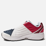 Женские кроссовки Tommy Jeans 6.0 Crest Low Rise Trainers Red/White/Blue фото- 2