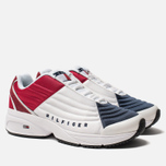 Женские кроссовки Tommy Jeans 6.0 Crest Low Rise Trainers Red/White/Blue фото- 1