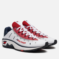 Женские кроссовки Tommy Jeans 8.0 Heritage Runner Red/White/Blue