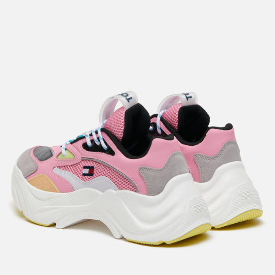 Женские кроссовки Tommy Jeans Fashion Chunky Runner Bubble Pink