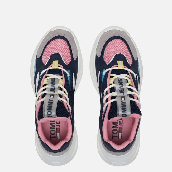 Женские кроссовки Tommy Jeans Fashion Chunky Runner Twilight Navy