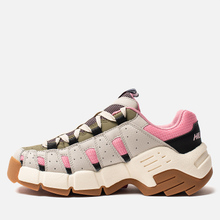 Женские кроссовки Tommy Jeans Heritage Chunky Trainers Pumice Stone/Sea Pink/Martini Olive фото- 5