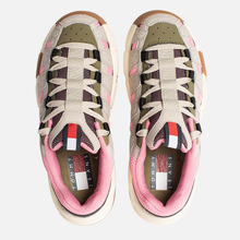 Женские кроссовки Tommy Jeans Heritage Chunky Trainers Pumice Stone/Sea Pink/Martini Olive фото- 1