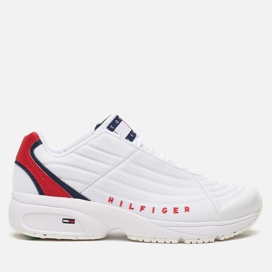 Женские кроссовки Tommy Jeans Heritage Colour-Blocked Trainers Red/White/Blue