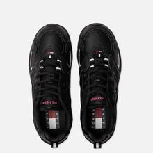 Женские кроссовки Tommy Jeans Heritage Logo Trainers Black фото- 1