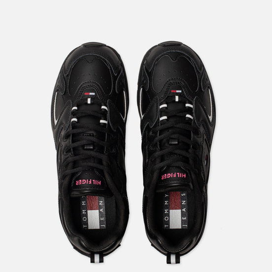 Женские кроссовки Tommy Jeans Heritage Logo Trainers Black