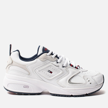 Женские кроссовки Tommy Jeans Heritage Logo Trainers White фото- 3