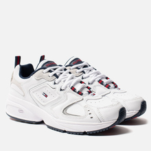 Женские кроссовки Tommy Jeans Heritage Logo Trainers White фото- 0