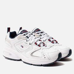 Женские кроссовки Tommy Jeans Heritage Logo Trainers White