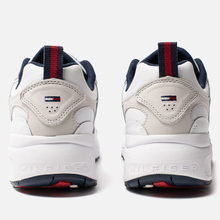 Женские кроссовки Tommy Jeans Heritage Logo Trainers White фото- 2