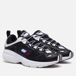 Женские кроссовки Tommy Jeans Heritage Retro Cutout Detail Trainers Black