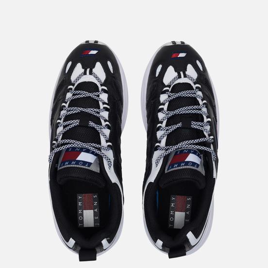 Женские кроссовки Tommy Jeans Heritage Retro Cutout Detail Trainers Black