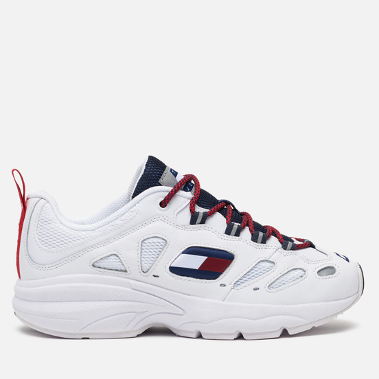 Женские кроссовки Tommy Jeans Heritage Retro Cutout Detail Trainers Red/Blue/White